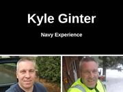 Kyle Ginter - Navy Experience