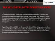 Travel Portal Development in Kuwait