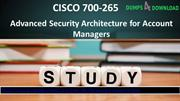 Dumps4Download Free CISCO 700-265 Dumps PDF - Free Latest 700-265 Exam