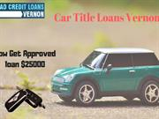 Get easy and quick cash on your car with title loans Vernon