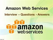 Amazon Web Services Online Training anfd AWS Question and Answers