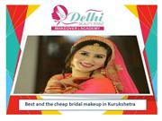 Perfect salon for bridal makeup in Kurukshetra