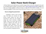 Solar Charger Power Bank Online | Solar Mobile Battery Charger