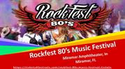 Cheap Rockfest 80's Music Festival Tickets with Complete Lineup