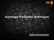 Astrology Prediction Techniques