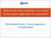 Know the importance of Event Organizers