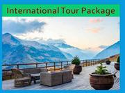 internation holiday packages from india