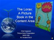 The Lorax: Content Area Picture Book
