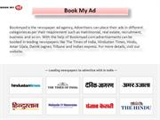 Recruitment ad in newspaper- Bookmyad