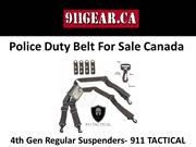 Police Duty Belt For Sale Canada