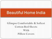 Glimpse Double Bed sheet Combo Offer Online