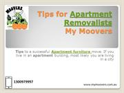 Best Tips for Apartment Removalists | Apartment Removalists