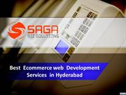 Best Ecommerce web Development Services in Hyderabad, Best Ecommerce