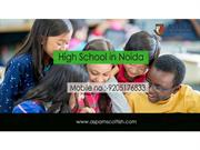 High-School-in-Noida
