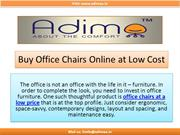 Adimaa - Office Chairs Online at Best Price