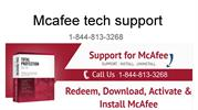 Mcafee tech support :Rreal time scanning mcafee won't stay on