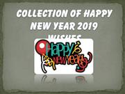 Collection Happy New Year 2019 Wishes