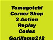 Action Replay Codes For Tamogotchi corne