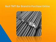 Best TMT Bar Brand to Purchase Online