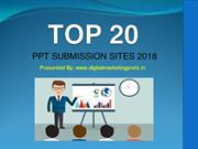 Top 20 Free PPT Submission Sites 2018