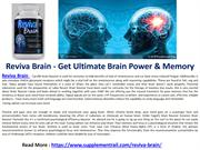 Reviva Brain - Get Ultimate Brain Power & Memory