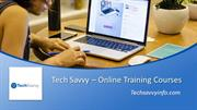 Tech Savvy - Online Training Courses