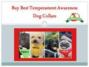 Buy Best Temperament Awareness Dog Collars Friendly Dog Collars