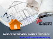 Top Agency for Best Quality and Affordable Aluminum Gate and Railing I