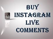 Buy Instagram Live Comments – For more Attendees