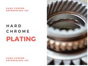 Proper Guide on the Benefits of Hard Chrome Plating Services