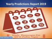 What you will get  in Yearly Predictions 2019