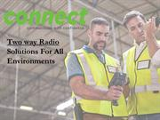 Digital Two Way Radios