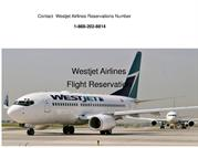 Westjet Airlines Booking 1-888-202-8814 Reservations Phone number