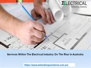 Services Within The Electrical Industry On The Rise In Australia