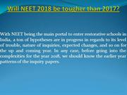Will NEET 2018 be tougher than 2017? | SKLE | SK Learner