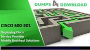 Free CISCO 500-201 Dumps - Free 500-201 Dumps PDF | Dumps4Download