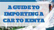 How to Shipping a Car to Mombasa - Auto Kenya