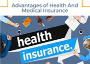 Advantages of Health And Medical Insurance