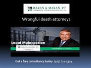 Motor vehicle accident attorney