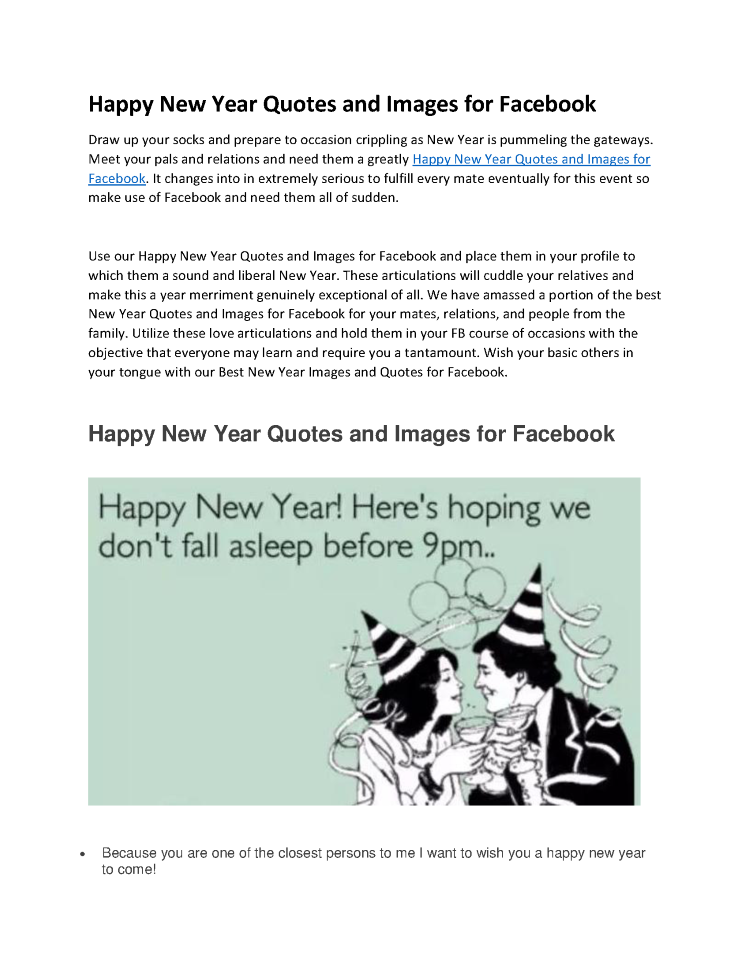 happy new year quotes and images for facebook authorstream