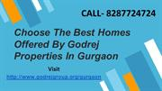 Choose The Best Homes Offered By Godrej Properties In Gurgaon