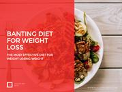 Banting Diet For Weight Loss
