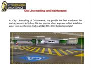 Sydney Line Marking Services by City Linemarking