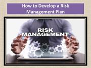 How to Develop a Risk Management Plan