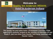 Quality inn Anderson IN Hotel