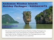 Andaman Nicobar Holiday Packages