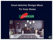 great interior design ideas to improve your home