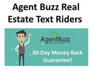 Agent Buzz Real Estate Text Riders