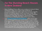 For The Stunning Beach Houses In New Zealand
