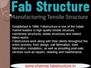 Tensile Structure In Chennai